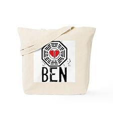 I Heart Ben - LOST Tote Bag