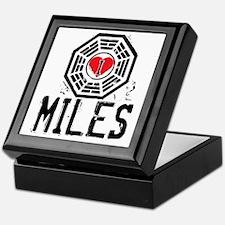 I Heart Miles - LOST Keepsake Box