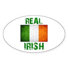 """""""REAL IRISH"""" Decal"""