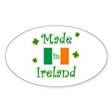 """""""Made in Ireland"""" Decal"""