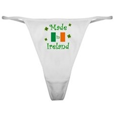 """Made in Ireland"" Classic Thong"