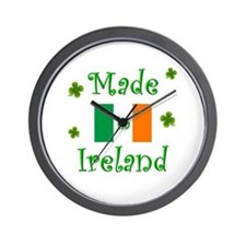"""Made in Ireland"" Wall Clock"