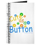 Cute as a Button Journal
