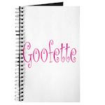 Goofette Journal