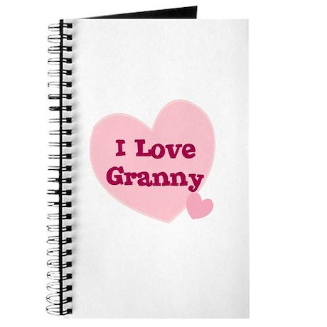 I Love Granny Journal
