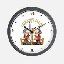 Pharaoh's Faucet Wall Clock