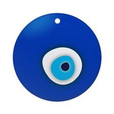 Evil Eye Ornament (Round)
