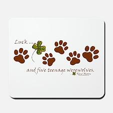 Werewolf Luck Mousepad