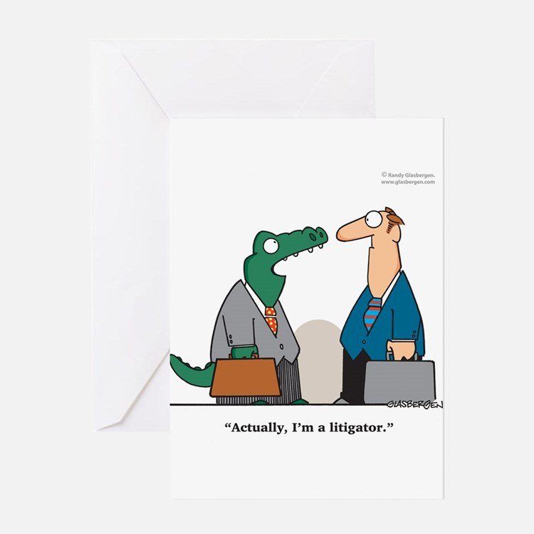 Funny Lawyer Greeting Cards – Lawyer Birthday Card
