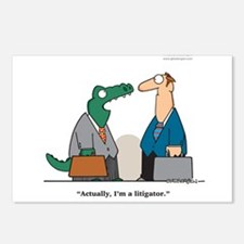 Litigator Postcards (Package of 8)