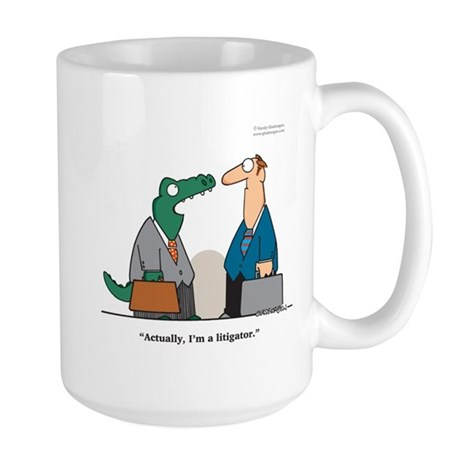 Litigator Large Mug
