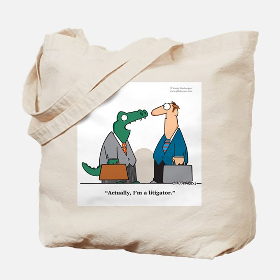 Litigator Tote Bag