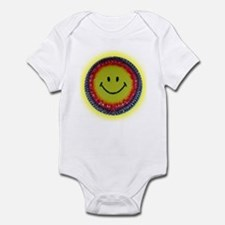 Smiley Face Infant Bodysuit