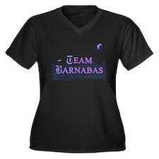 Team Barnabas Color Women's Plus Size V-Neck Dark