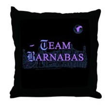 Team Barnabas Color Throw Pillow