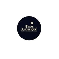 Team Angelique B&W Mini Button (10 pack)