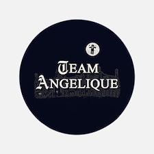 """Team Angelique B&W 3.5"""" Button (100 pack)"""