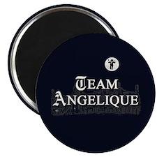 Team Angelique B&W Magnet