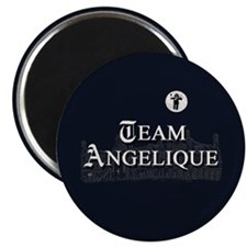 "Team Angelique B&W 2.25"" Magnet (10 pack)"