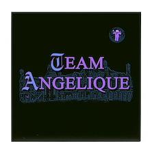 Team Angelique Color Tile Coaster