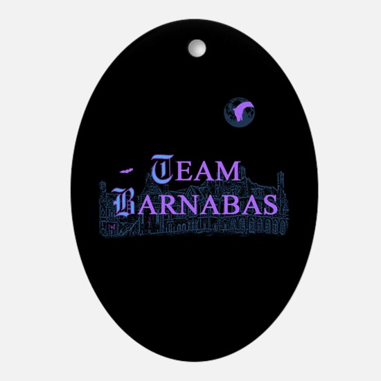 Team Angelique Color Ornament (Oval)
