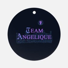 Team Angelique Color Ornament (Round)