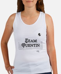 Team Quentin B&W Women's Tank Top