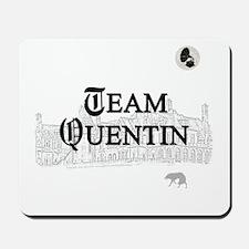 Team Quentin B&W Mousepad