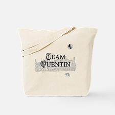 Team Quentin B&W Tote Bag