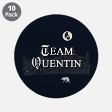 """Team Quentin B&W 3.5"""" Button (10 pack)"""