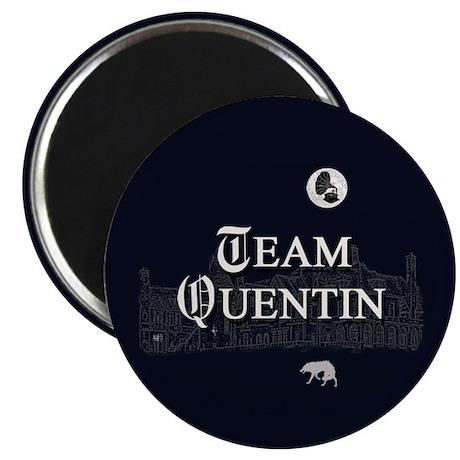 Team Quentin B&W Magnet
