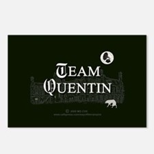 Team Quentin B&W Postcards (Package of 8)