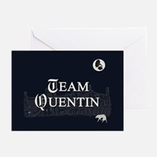 Team Quentin B&W Greeting Cards (Pk of 10)
