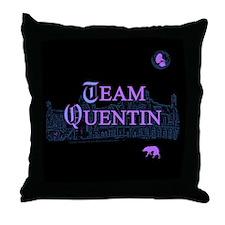 Team Quentin Color Throw Pillow