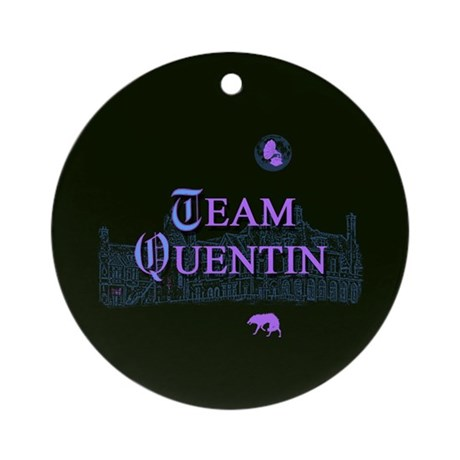 Team Quentin Color Ornament (Round)