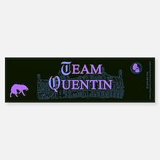 Team Quentin Color Bumper Bumper Sticker