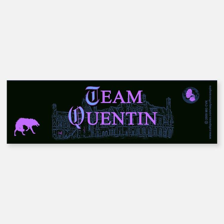 Team Quentin Color Car Car Sticker