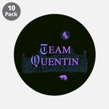 """Team Quentin Color 3.5"""" Button (10 pack)"""