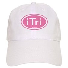 iTri Pink Oval Baseball Cap