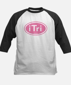 iTri Pink Oval Tee