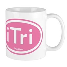iTri Pink Oval Mug
