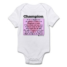 Champion Onesie