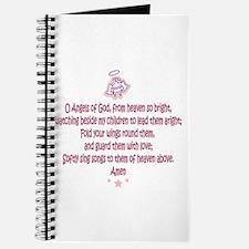 Cute Guardian angel Journal