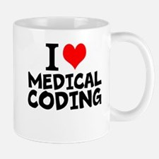 I Love Medical Coding Mugs