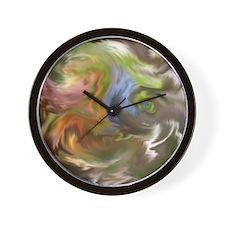 Bristol Abstract Natural Wall Clock