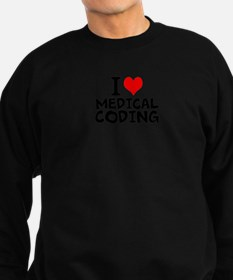 I Love Medical Coding Sweatshirt