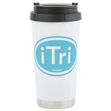 iTri Blue Oval Travel Mug
