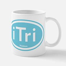 iTri Blue Oval Mug