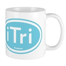 iTri Blue Oval Mug