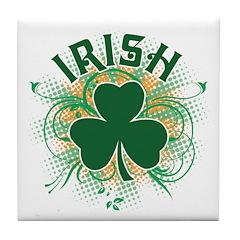Irish [swirls] Tile Coaster